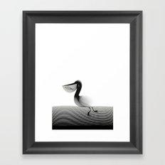 Pelic-shirt Framed Art Print