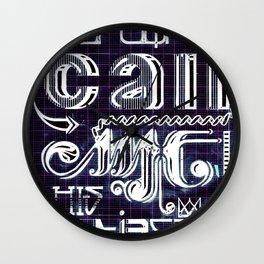 """""""I""""theme Wall Clock"""