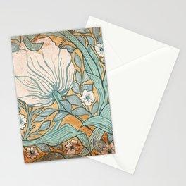 White tulip Stationery Cards