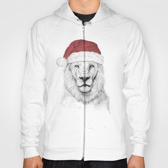 Santa lion Hoody