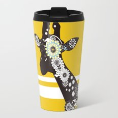 Funky Cool Paisley Giraffe Travel Mug