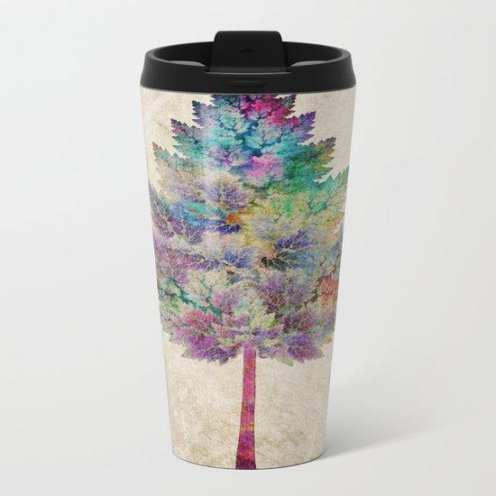 Like a Tree 2. version Metal Travel Mug