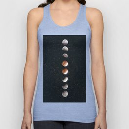 Phases of the Moon II Unisex Tank Top