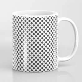 Pirate Black Polka Dots Coffee Mug