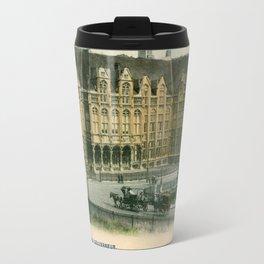 Vintage Liège Belgium governor's palace Travel Mug
