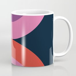 Cya Later - retro minimalist 70s colorful abstract art 1970's vintage style vibes Coffee Mug