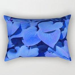 Indigo Jungle Rectangular Pillow