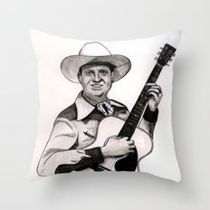Gene Autry Throw Pillow