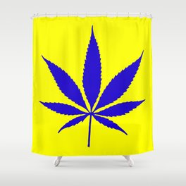 Weed Hash Bash Shower Curtain