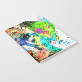 Labrador Retriever Grunge Notebook