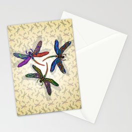 DRAGONFLY CIRCLE 2 Stationery Cards