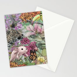Flora and Fauna of Mexico Stationery Cards