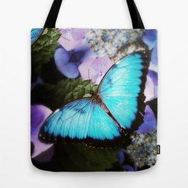 Morpho Bleu Tote Bag