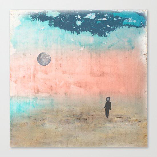 Galaxy Seeker Canvas Print