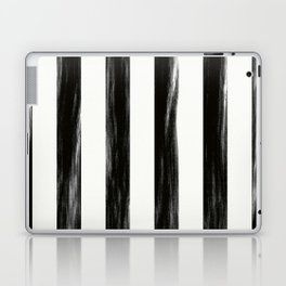 Strong Black Painted Stripes Laptop & iPad Skin