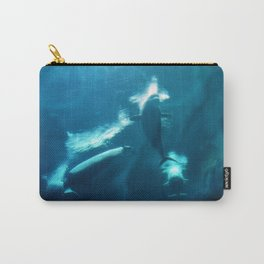 Underwater Beluga Whale Ballet Carry-All Pouch