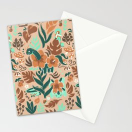 Tropical Grass Type Stationery Cards