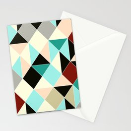 Harlequin tile Stationery Cards