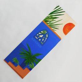 Southwest Summer Garden / Desert Landscape Yoga Mat