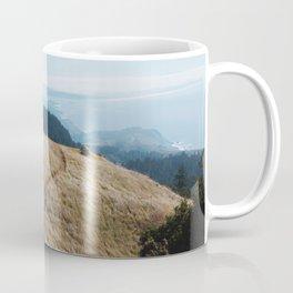 Windswept Day at Mt. Tam Coffee Mug