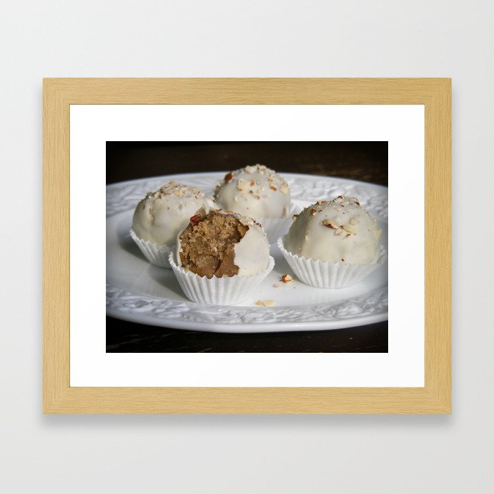 Fruit Cake Truffles: Take Two Framed Art Print