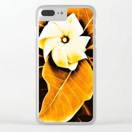 Tiare 'o Tahiti Clear iPhone Case