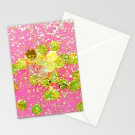Confetti Cocktail Stationery Cards