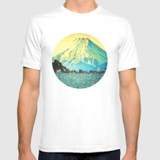Waddling through Kennijo Lake Mens Fitted Tee White MEDIUM
