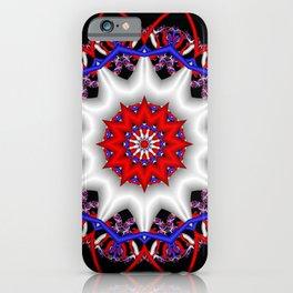 symmetry on black -08- iPhone Case