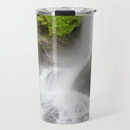 Pacific Northwest Adventure - Long Exposure Waterfall | Silver Falls Travel Mug