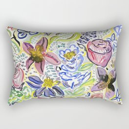 Flowers Dried in the Sun Rectangular Pillow
