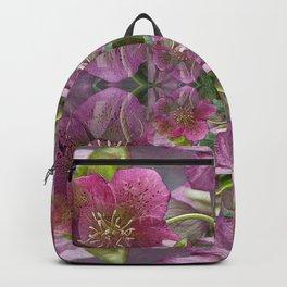HELLEBORUS NIGERCORS FLOWER Backpack