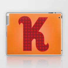 Alphabet K Laptop & iPad Skin