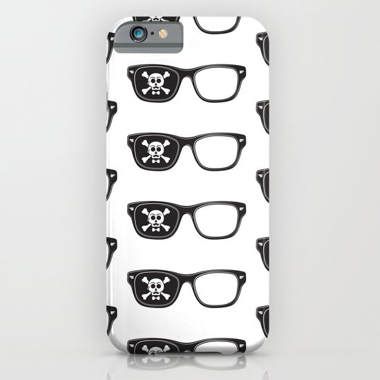 Hipster Pirate iPhone & iPod Case