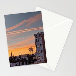 Sunset, Nerja, Spain Stationery Cards