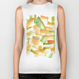180719 Koh-I-Noor Watercolour Abstract 21 | Watercolor Brush Strokes Biker Tank