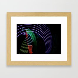 Trails Framed Art Print