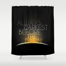 Shake It Out Shower Curtain