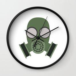 Army Gasmask Wall Clock
