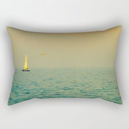 Sailing on The Great Lakes Rectangular Pillow