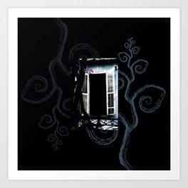 Enchanted Window no3 Art Print
