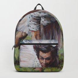 Ace Ventura - Blue 42! - Jim Carey in a Tutu Backpack