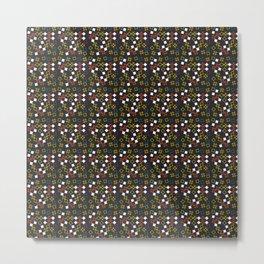 Geometric Mish Mash Metal Print