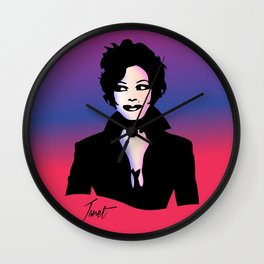 Janet Jackson - Janet - Pop Art Wall Clock