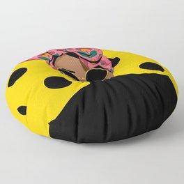 Black Beauty Floor Pillow