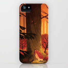 Blindsprings Page Five iPhone Case