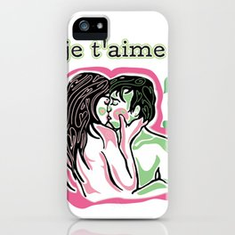 Je T'aime iPhone Case