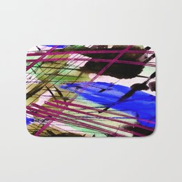 Abstract Joy 3H by Kathy Morton Stanion Bath Mat