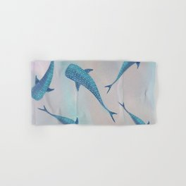 Whale Sharks Hand & Bath Towel