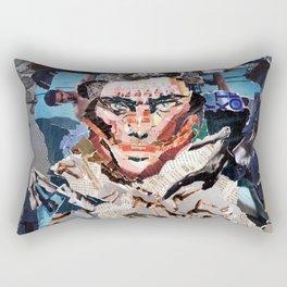 Gash Prince - Magazine Collage Rectangular Pillow